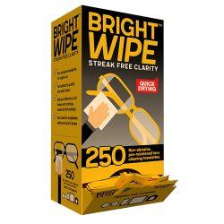 Brightwipe 25pc Lens Cleaning Tissue Dispensing Box