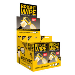 Brightwipe 6pc Cleaning Tissue Counter Unit