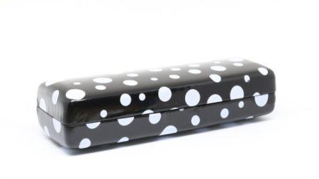Cupcake Designer Eyewear Case - Black Spots